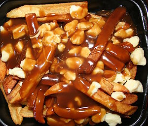 Poutine – A Quebec bit of Lovely Delicious Mess