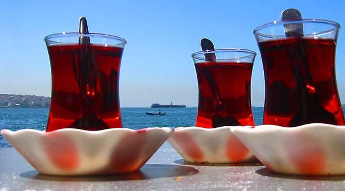 Turkish residence permit tea
