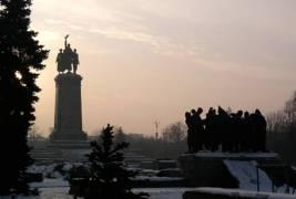 Sofia communist statues