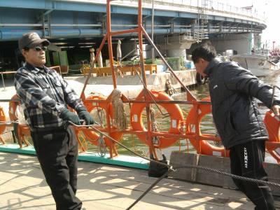 hand ferry in South Korea, Sokcho, Abai