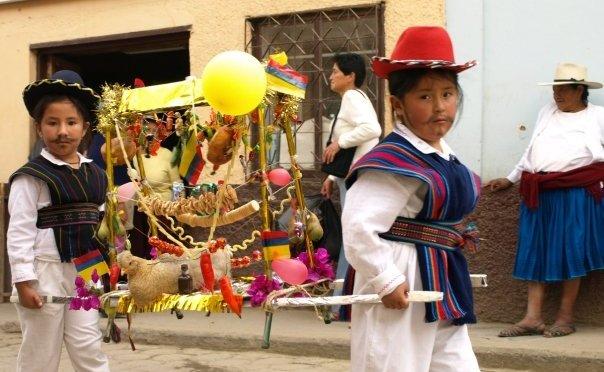 La Fiesta Mama Negra in Ecuador