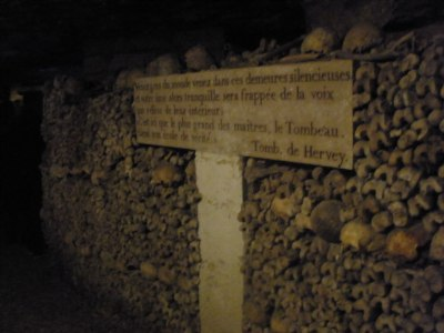 getting out of the Paris Catacombs