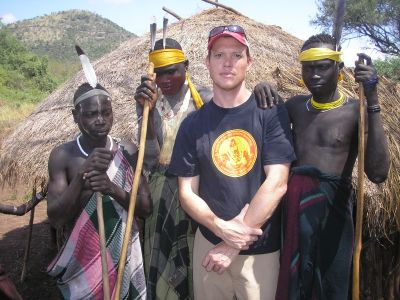 Rolf Potts and Ethiopians