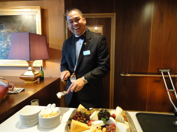 Holland America Wine and Cheese Sommelier