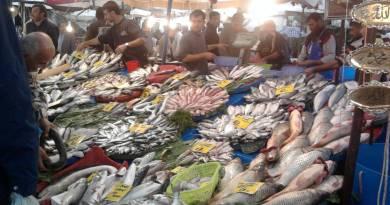 fish market in Izmir