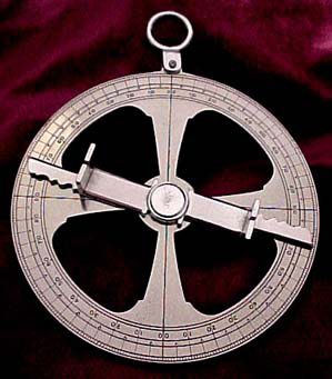 ancient navigation astrolabe tool