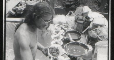 The Naked Gourmet at work - image from his Tribe page