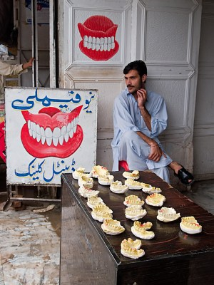 Modern dentistry hasn't quite made it to Pakistan