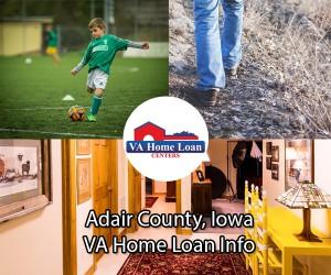 Adair County, Iowa VA Loan Information - VA HLC