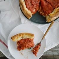 Pizza Recheada (Chicago Style Deep Pizza)