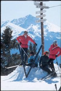 1960's ski instructors