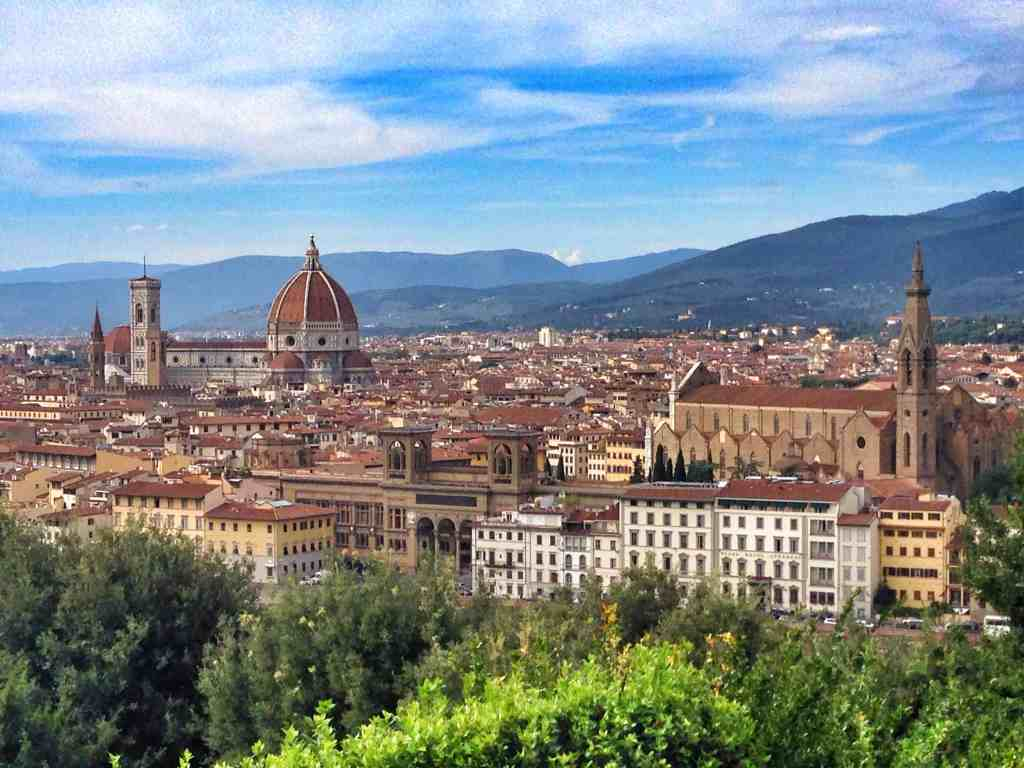 Overview of Florence from Piazzale Michelangelo
