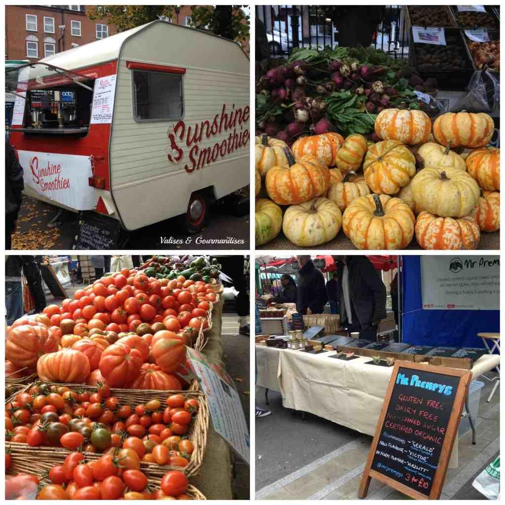 Farmer's market Stoke Newington