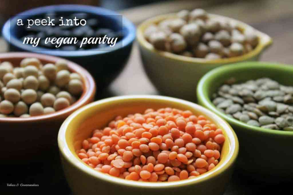 All you need to have in a vegan pantry