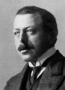 Robert Walser años antes de fallecer.