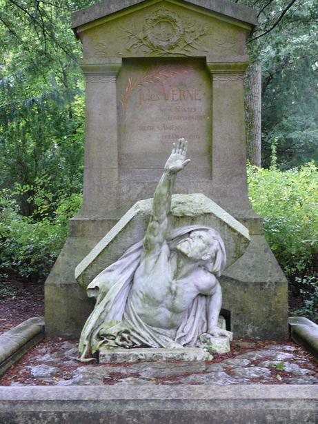 Tumba de Julio Verne.