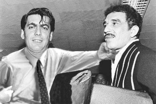 Vargas Llosa golpeando a García Márquez