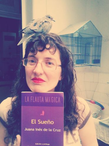 La poeta Romina Freschi.