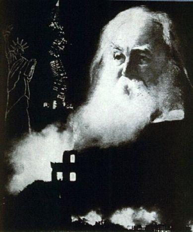 """""""La España de Whitman"""". Montaje por Juan Larrea"""