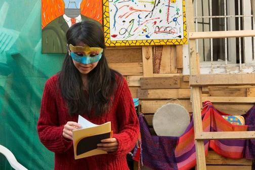La poeta Leonor Olmos.