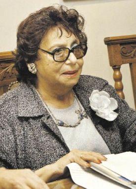 La poeta Olga Orozco 1996
