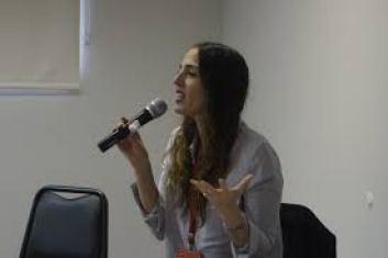La narradora Montserrat Martorell