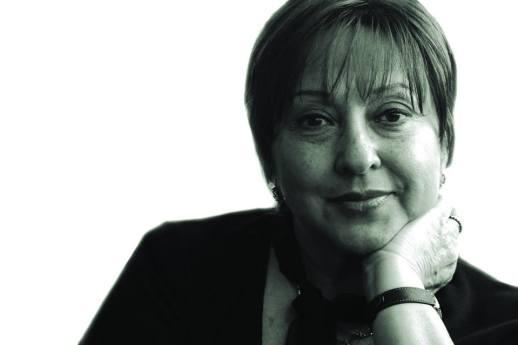 La poeta Marta Ortiz