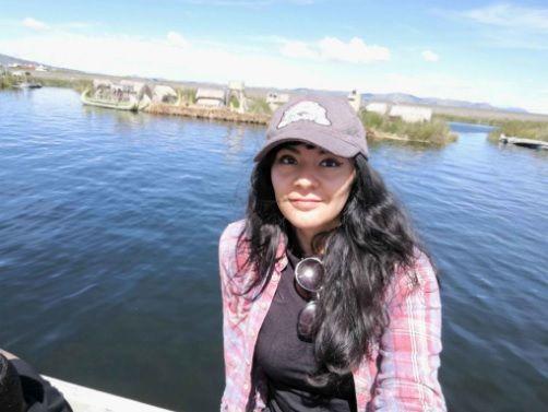 La poeta Marina Irkalla
