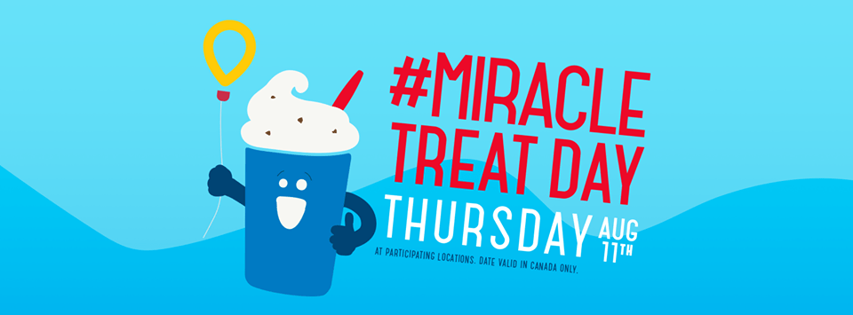 Miracle Treat Day at DQ is Back!