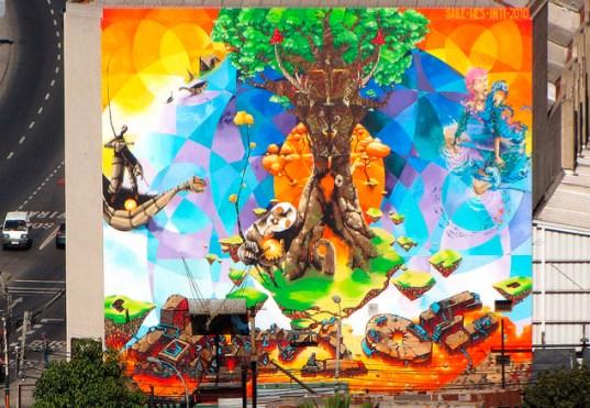 mural arbol