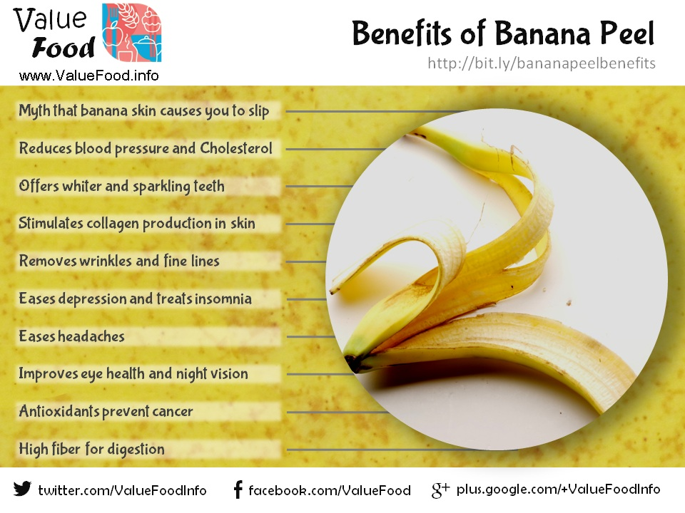 nutrients in banana peels Another one of the many banana peel nutrients is potassium potassium is needed to build muscle, break down carbohydrates, control the electrical activity of your heart, and to regulate the acid-base balance in your body 6 stave off cancer banana peels are exceptionally high in antioxidants.