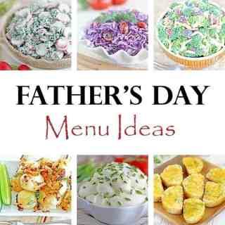 2016 Father's Day Menu Ideas