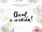 questions and answers - qual a medida-destaque