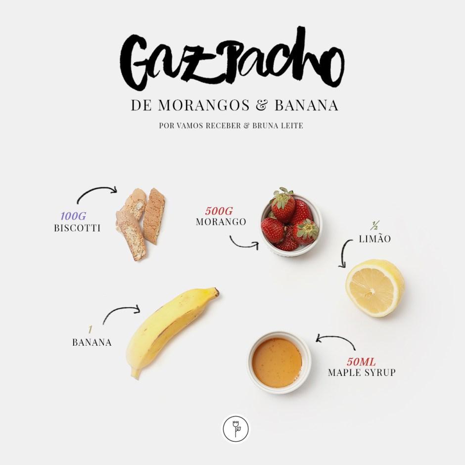 gazpacho morango banana