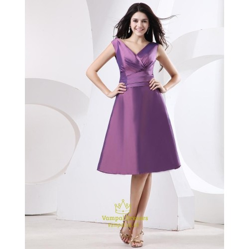 Medium Crop Of Purple Cocktail Dresses