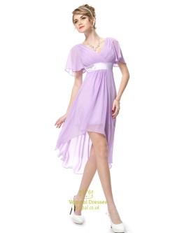 Fantastic Lilac Chiffon Low Bridesmaid Dresses Flutter Sleeves Lilac Chiffon Low Bridesmaid Dresses Flutter Lilac Bridesmaid Dresses Ireland Lilac Bridesmaid Dresses Canada