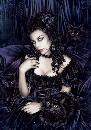 vamp black cats