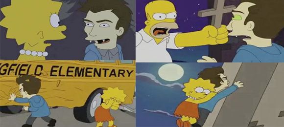 simpsons twilight