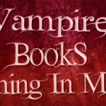 Vampire Books Coming May 2011