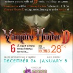 For a Limited Time Only Read Vampire Hunter D for Free!
