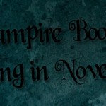 Vampire Books Coming November 2012