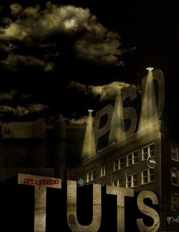Design a Sin City Style Poster