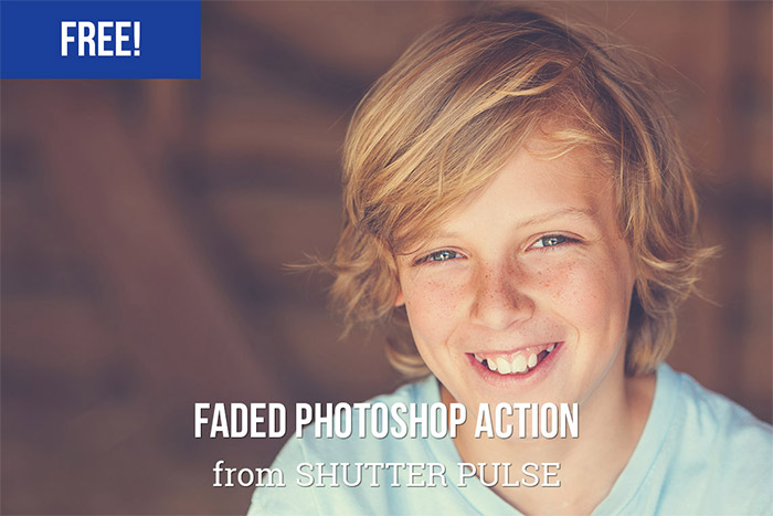 Faded Photoshop Action