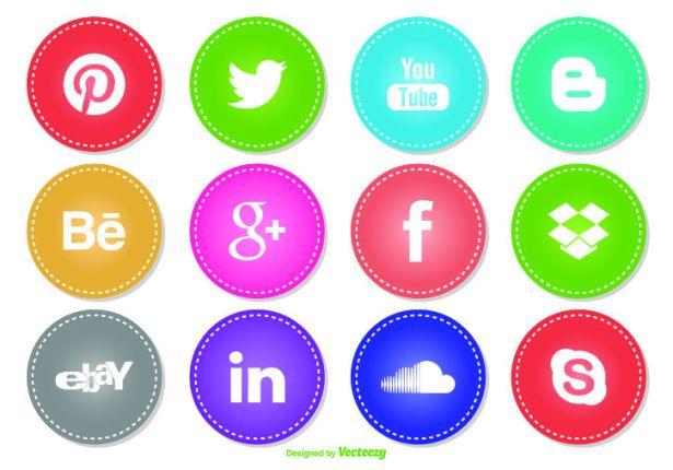 DD Social Icon Set