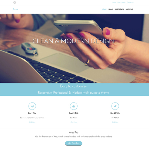 ares-free-responsive-wordpress-theme