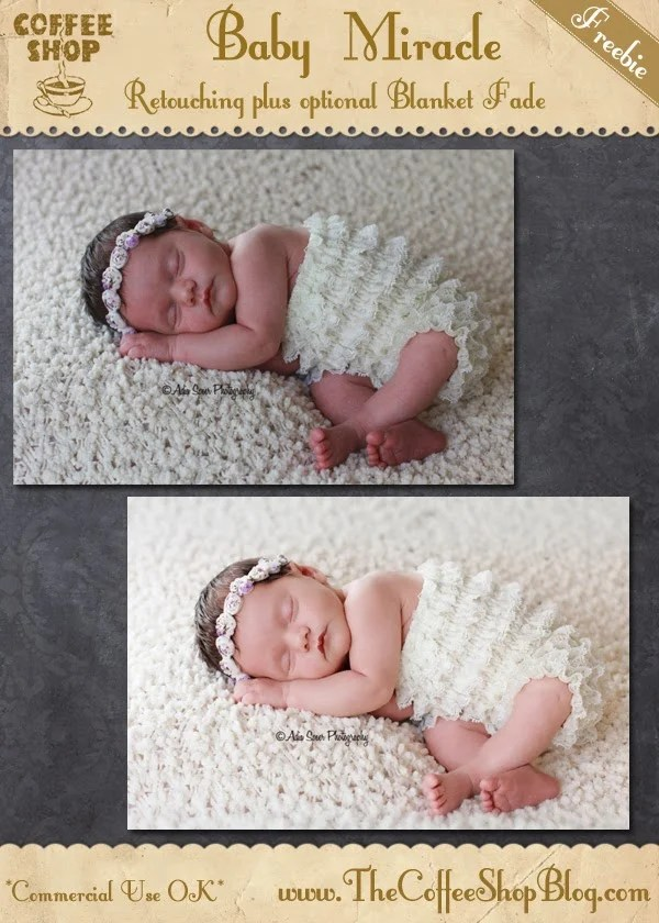 Baby Miracle Photoshop Action
