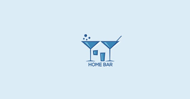 bar pub logo design