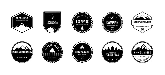 Free Camping and Nature Badges