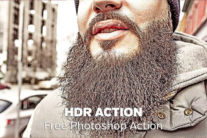 Free Faux HDR Photoshop Action