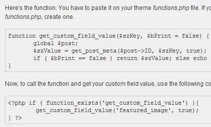 How to Easily Get the Value of a Custom Field